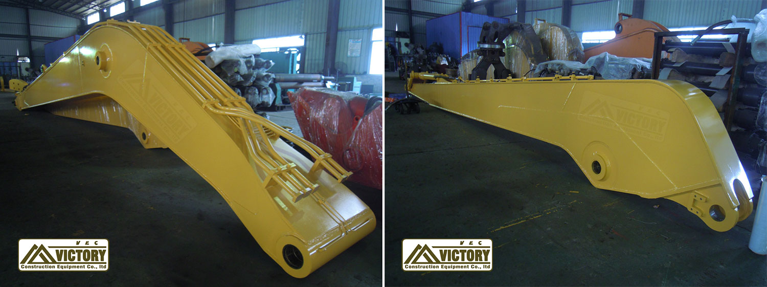 19m long boom arm for PC400 excavator