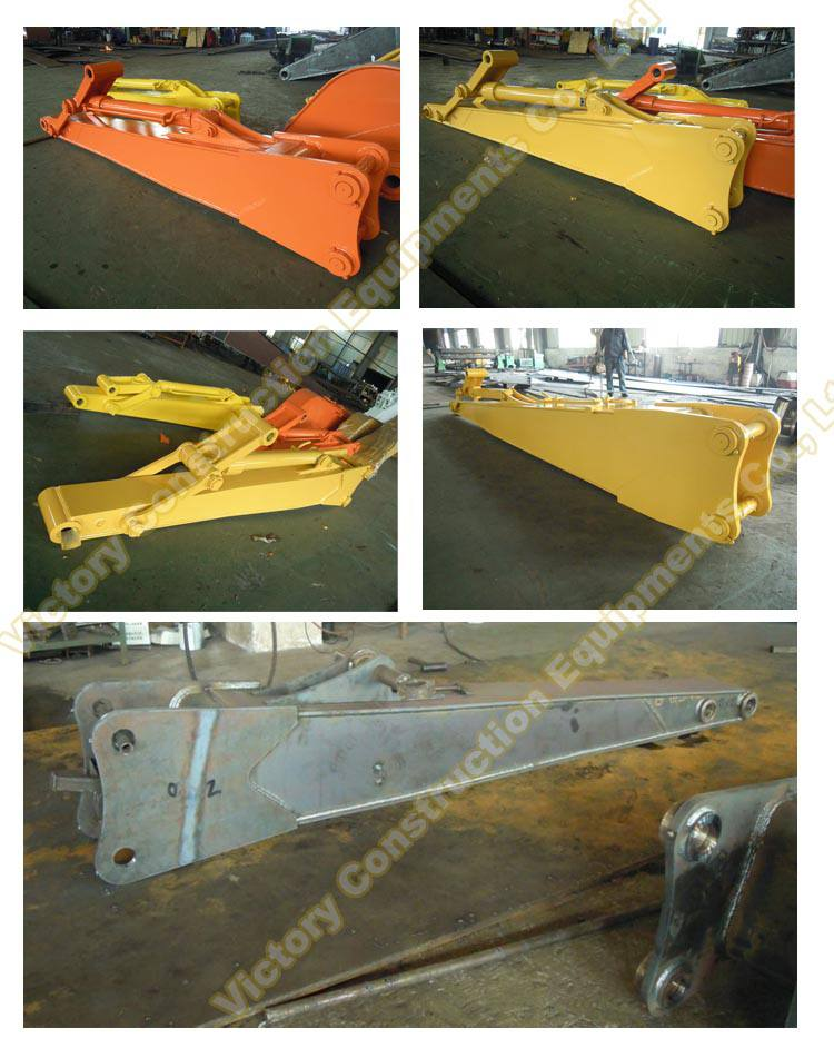 factor of extension stick for excavator