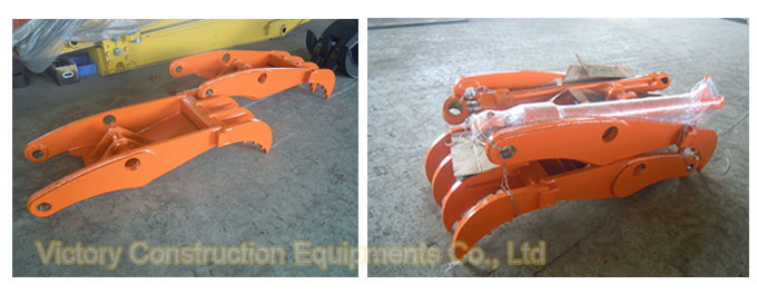 hydraulic thumb for ex130 excavator