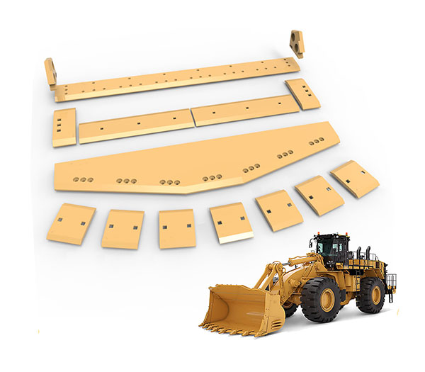 High strength of cutting edge for excavator and loader bucket