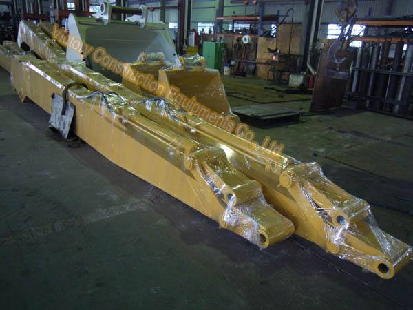 pc200 excavator long reach arm